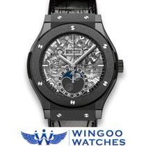 Hublot - CLASSIC FUSION AEROFUSION MOONPHASE BLACK MAGIC Ref....