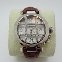 Cartier Pasha 32mm White Gold Ref 2400