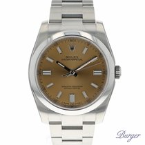 Rolex Oyster Perpetual 36 White Grape NEW