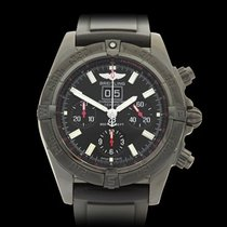 Breitling WindRider Blackbird PVD Coated Stainless Steel Gents...
