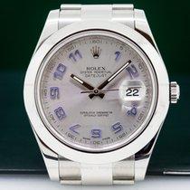 Rolex 116300 Datejust II SS Silver Dial (26347)