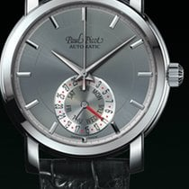 Paul Picot FIRSHIRE  RONDE  DAY& DATE  strap skin  dial grey
