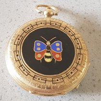 Vacheron Constantin 2. Vacheron Geneve - enamel - gold open...
