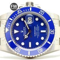 Rolex Submariner Date Blue White Gold