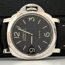 Panerai Luminor 8 Days Acciaio 44mm NOVO Lacrado