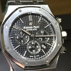 Audemars Piguet CHRONO 41 MM REF 26320ST BLACK DIAL