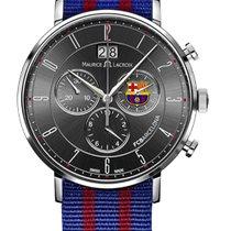 Maurice Lacroix Eliros Chronograph Date, Black Dial, Textile...