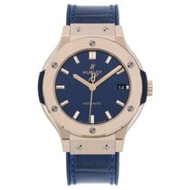 Hublot Classic Fusion King Gold Blue Automatic 38 mm