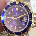 Rolex Submariner Steel & Gold Purple Full Set Ref.16613