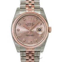ロレックス (Rolex) Datejust Pink 18k Rose Gold/Steel G Jubilee 36mm...