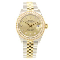 勞力士 (Rolex) Lady Datejust Gold Steel Diamond Gold Automatic...