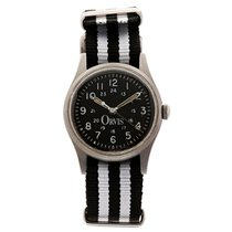 Hamilton Field watch with hack device retailed by Orvis