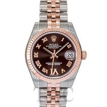 Rolex Datejust Lady 31 Chocolate/18k rose gold Ø31mm - 178271