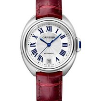 Cartier WSCL0017 Cle de Cartier 35mm in Steel - on Shiny...