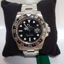 Rolex GMT-Master II 116710LN - paper and box - warranty 1 year