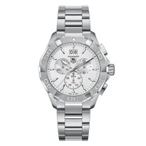 TAG Heuer Aquaracer 43mm Chrono Date Quartz Mens Watch Ref...