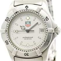 TAG Heuer 2000 Professional Stainless Steel Quartz Boys Watch...