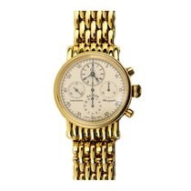 Chronoswiss Kairos Chronograph CH7221 750 Gelbgold Handaufzug...