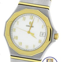 Concord SG 500 Mariner Two-Tone 18K Gold Stainless Quartz 38mm...