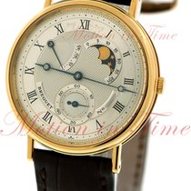 Breguet Classique Moonphase & Power Reserve, Silver Dial -...