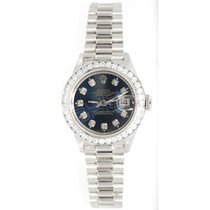 Rolex Lady's Presidential 69179 in 18K White Gold with...