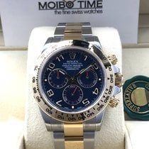 Rolex Cosmograph Daytona 116503 Gold Steel Blue Arabic Dial [NEW]