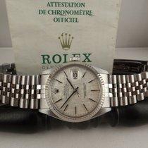 Rolex datejust ref. 16014 anno 1978 textured jubileee paper