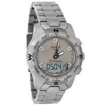 Tissot T-Touch Mens Analog Ditigal Titanium Watch T047.420.11....