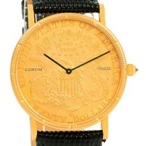 Corum 20 Dollars Double Eagle Yellow Gold Coin Year 1895 Watch