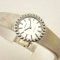 Tissot stylist lady in oro bianco 18 kt con brillanti  manuale