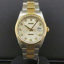Rolex Datejust 36mm Ref. 16233 2 Tone Steel & Yellow Gold...