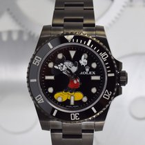 """Rolex Submariner  """"Mickey Mouse"""" by Montre Noire"""