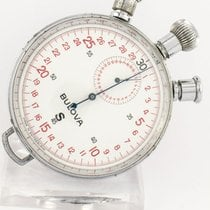 Bulova stop watch / pocket watch S 45 Mono-rattrapante (split...