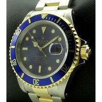Rolex | Submariner Steel And Gold Blue Bezel And Dial, Ref....