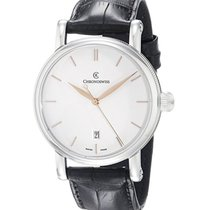Chronoswiss CH-2893.1 Sirius Analog Automatic in Steel - On...