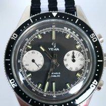 Yes Watch YEMA DAYTONA CHRONOGRAPH PANDA SUPER RARE mint...