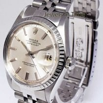Rolex Datejust Vintage Stainless Steel Silver Dial Mens Watch...