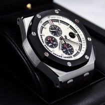 オーデマ・ピゲ (Audemars Piguet) Royal Oak Offshore Silver Dial...