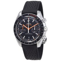 Omega Speedmaster Racing Leather Strap Mens Watch 329.32.44.51...