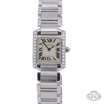 Cartier Tank Francaise Diamond Set | Stainless Steel Ladies