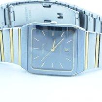 Rado Diastar Herren Uhr 34mm Mit Orig. Stahl Band Stahl/stahl...