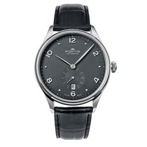 Fortis TERRESTIS HEDONIST p.m. Steel PM Automatic Date 9012011