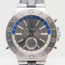 Bulgari Diagono GMT Automatic Blue Ref. DG 40 S GMT