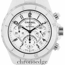 Chanel J12 Auto Chronograph Ceramic H1007 (Chanel serviced 2017)