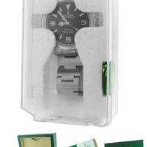 Rolex Explorer I Black LUME ARABIC 39mm 214270 Stainless Oyster