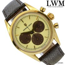 Universal Genève Chronograph 184.450 Compax Newman dial yellow...