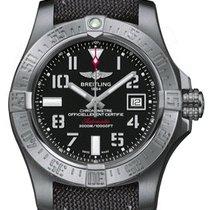 Breitling Super Avenger II   Black steel (Limited)