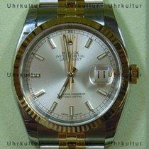 Rolex Datejust, Ref. 116233 - silber Index Zifferblatt/Jubilee...