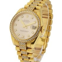 Rolex Used 68278_used_champ_dd Midsize President with Factory...