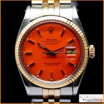 Rolex Date-Just Ref 1601 Custom Red Stella Color Dial
